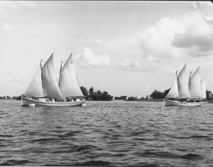Zomerkamp 1966 Hilversum. Foto Joop Veenma ZKK Groningen